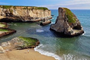 Shark Fin cove, Davenport California, Davenport CA, things to do in Davenport, best hotels in Davenport, Davenport attractions, best restaurants in Davenport, Davenport nightlife, Davenport Beaches, best California beaches, beach travel , beach travel destinations
