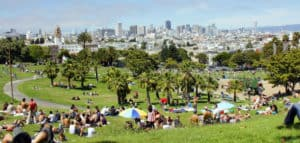 Dolores Park, San Francisco California, San Francisco beaches, California beaches, San Francisco vacations, things to do in San Francisco, best restaurants in San Francisco, best nightlife in San Francisco, best San Francisco Hotels, beach travel, beach travel destinations, best beach vacations