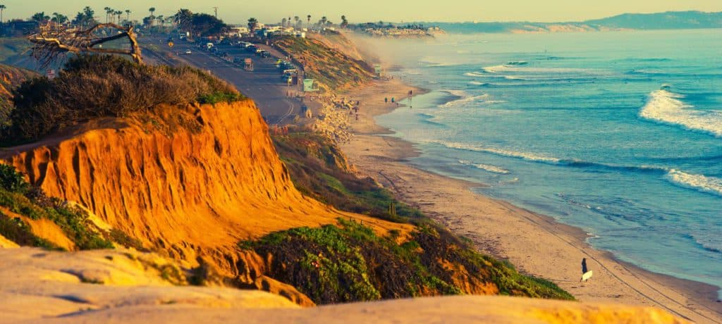 Encinitas California, Best Surfing Towns, best surf towns, best surf towns in the USA, best surfing in the USA, surfing towns, beach travel, beach travel destinations