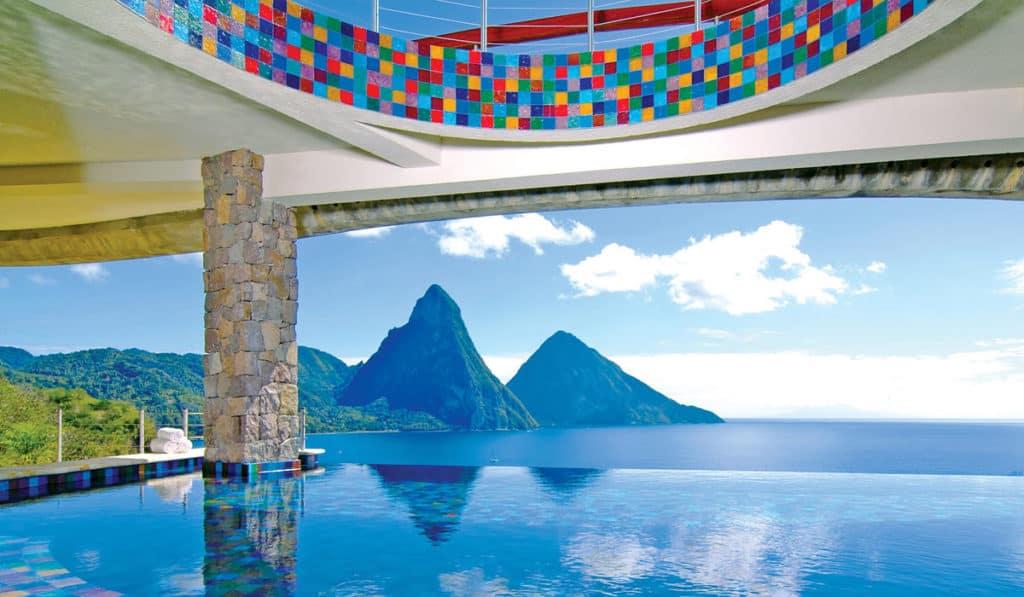 Jade Mountain, St. Lucia, Best Luxury Beach Resorts, best beach resorts, most luxurious beach resorts, Luxury beach resorts