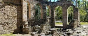 This image has an empty alt attribute; its file name is Bulow-Plantation-Ruins-State-Historic-Site-300x124.jpeg