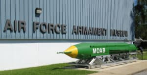 This image has an empty alt attribute; its file name is Air-Force-Armament-Museum-300x153.jpg