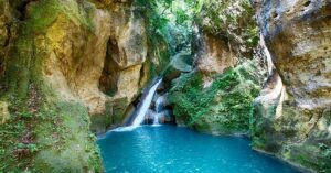 Bassin Bleu Waterfall, Haiti beaches, best Caribbean beaches, beach travel, best Haiti hotels, best Haiti restaurants, best Haiti bars, Haiti tours