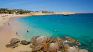 This image has an empty alt attribute; its file name is Chileno-Beach-300x169.jpg