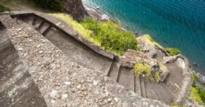 Ladder Bay, Saba, Leeward Islands, Lesser Antilles, things to do in Saba, Saba Beaches, Saba Island Travel Guide, best beaches of the Caribbean, Saba Attractions, best hotels in Saba, best restaurants in Saba