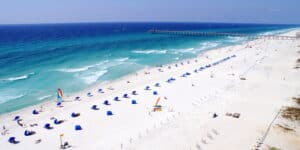 This image has an empty alt attribute; its file name is Pensacola-Beach-300x150.jpg