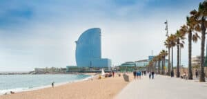 Barceloneta Beach, Barcelona Spain, Barcelona Shore Excursions, things to do in Barcelona, best Barcelona beaches, best Barcelona hotels, best Barcelona restaurans, Barcelona Attractions,Best Western Mediterranean Cruise Ports