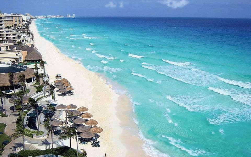 Playa Chac Mool, Cancun Mexico, Yukatan Peninsula beaches, best Yukatan Peninsula beaches