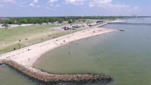 Sylvan Beach, La Porte Texas, La Porte TX beaches, Texas Beaches, things to do in La Porte TX, best hotels in La Porte Texas, best restaurants in La Porte TX, best nightlife in La Porte Texas, La Porte Texas attractions, beach travel, beach vacations
