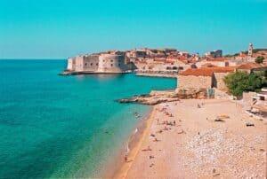 Banje Beach, Dubrovnik Croatia, best Dubrovnik beaches, best Dubrovnik hotels, best Dubrovnik restaurants, best Dubrovnik bars, things to do in Dubrovnik, recommended Dubrovnik tours & Activities, Europe beaches, best Croatia Beaches