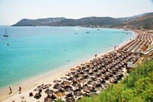 Elia Beach, Mykonos Greece, the Cyclade Islands, best Mykonos beaches, best Mykonos hotels, best Mykonos restaurants, best Mykonos bars, things to do in Mykonos, recommended Mykonos tours & activities
