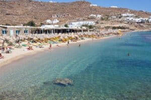 Paradise Beach, Mykonos Greece, the Cyclade Islands, best Mykonos beaches, best Mykonos hotels, best Mykonos restaurants, best Mykonos bars, things to do in Mykonos, recommended Mykonos tours & activities