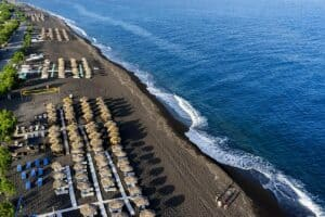 Perivolos Beach, Santorini Greece, The Cyclades, best Santorini beaches, best Santorini hotels, best Santorini restaurants, best Santorini bars, things to do in Santorini, recommended Tours & activities