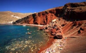 Red Beach, Santorini Greece, The Cyclades, best Santorini beaches, best Santorini hotels, best Santorini restaurants, best Santorini bars, things to do in Santorini, recommended Tours & activities
