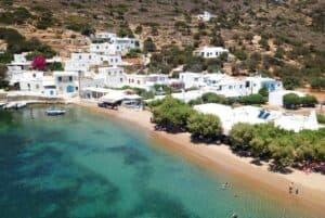 Vathy Beach, Sifnos Island Greece, The Cyclades, Sifnos hotels, things to do in Sifnos, Sifnos restaurants, best Sifnos beaches