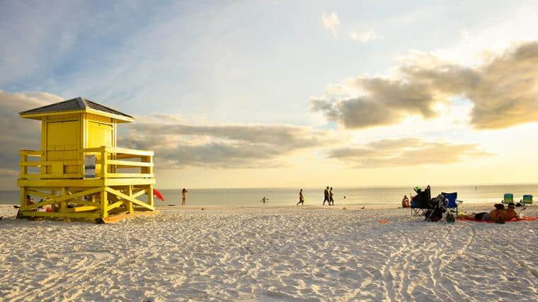 Siesta Beach, Siesta Key Florida, Top 20 Beach Destinations in the World 2020, World's best beaches
