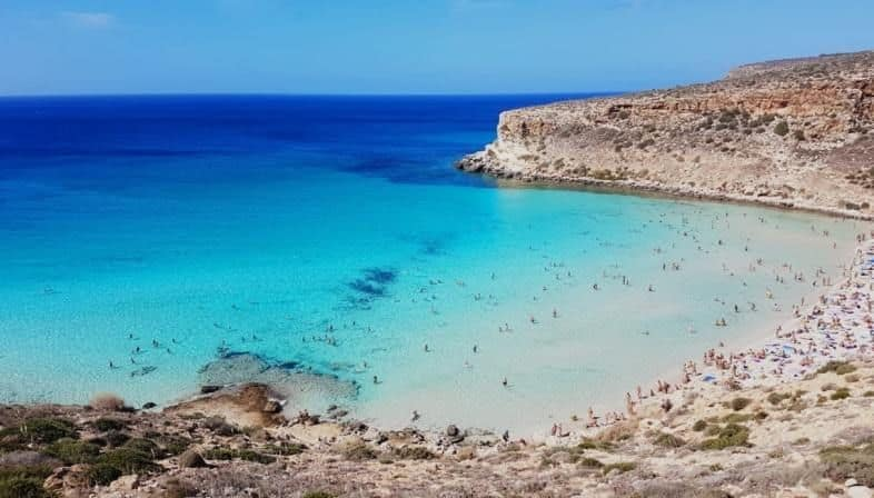 Spiaggia dei Conigli, Lampedusa, Islands of Italy, Top 20 Beach destinations in the world, world's best beaches