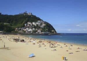 Ondarreta Beach, San Sebastian Donostia Spain, Top 25 Beach destinations, Best Beaches in the world