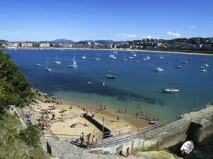 Santa Clara Island Beach, San Sebastian Donostia Spain, Top 25 Beach destinations, Best Beaches in the world