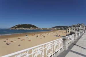 Concha Beach, San Sebastian Donostia Spain, Top 25 Beach destinations, Best Beaches in the world