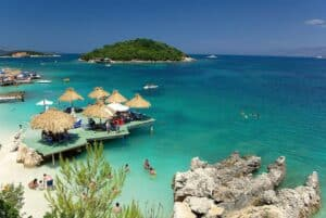 Where Can I Vacation During COVID?  Beach worthy destinations.  Travel to Albania during COVID