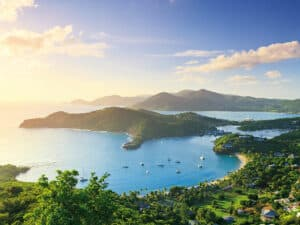 Where Can I Vacation During COVID?  Beach worthy destinations.  Travel to Antigua & Barbuda during COVID