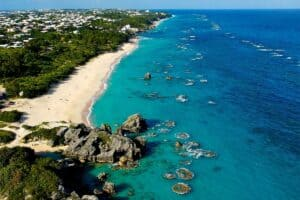 Where Can I Vacation During COVID?  Beach worthy destinations.  Travel to Bermuda during COVID