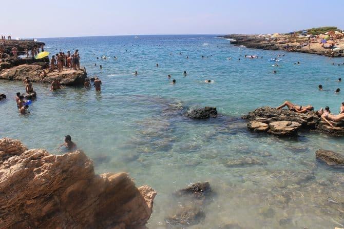 Spiaggia Porto Selvaggio, Lecce, Italy, best beaches of Italy