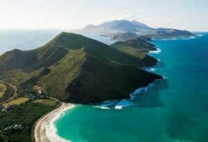 Where Can I Vacation During COVID?  Beach worthy destinations.  Travel to St Kitts & Nevis during COVID