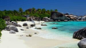 This image has an empty alt Where Can I Vacation During COVID?  Beach worthy destinations.  Travel to Virgin Gorda, British Virgin Islands during COVID