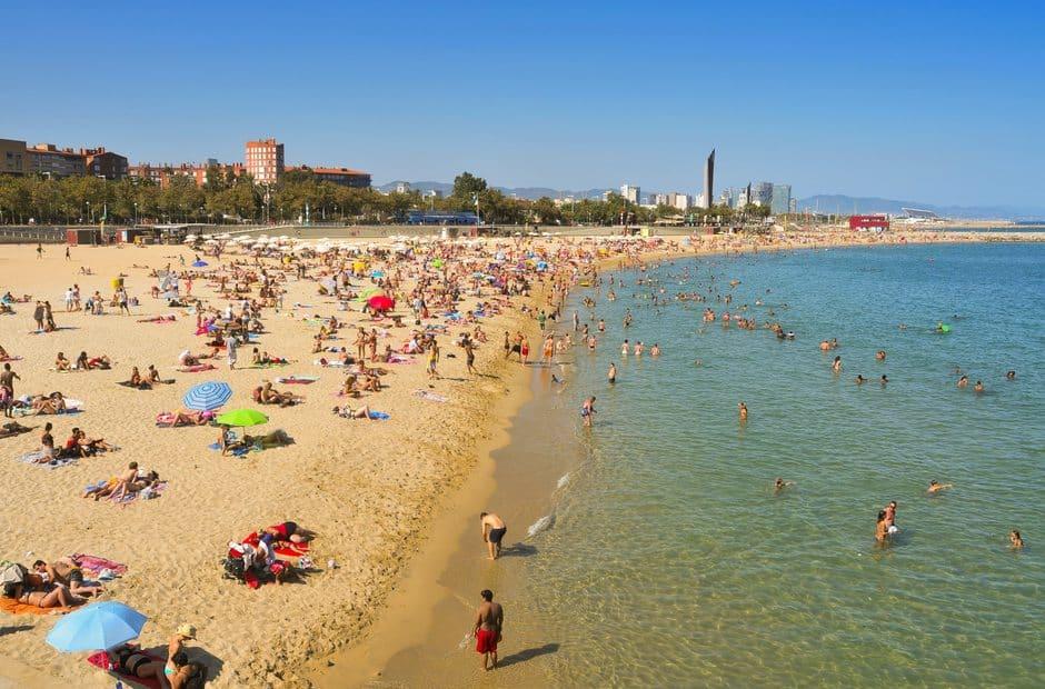 Bogatell, Barcelona, Spain Beaches, best Spain Beaches, beach travel destinations, beach travel, beach vacations,