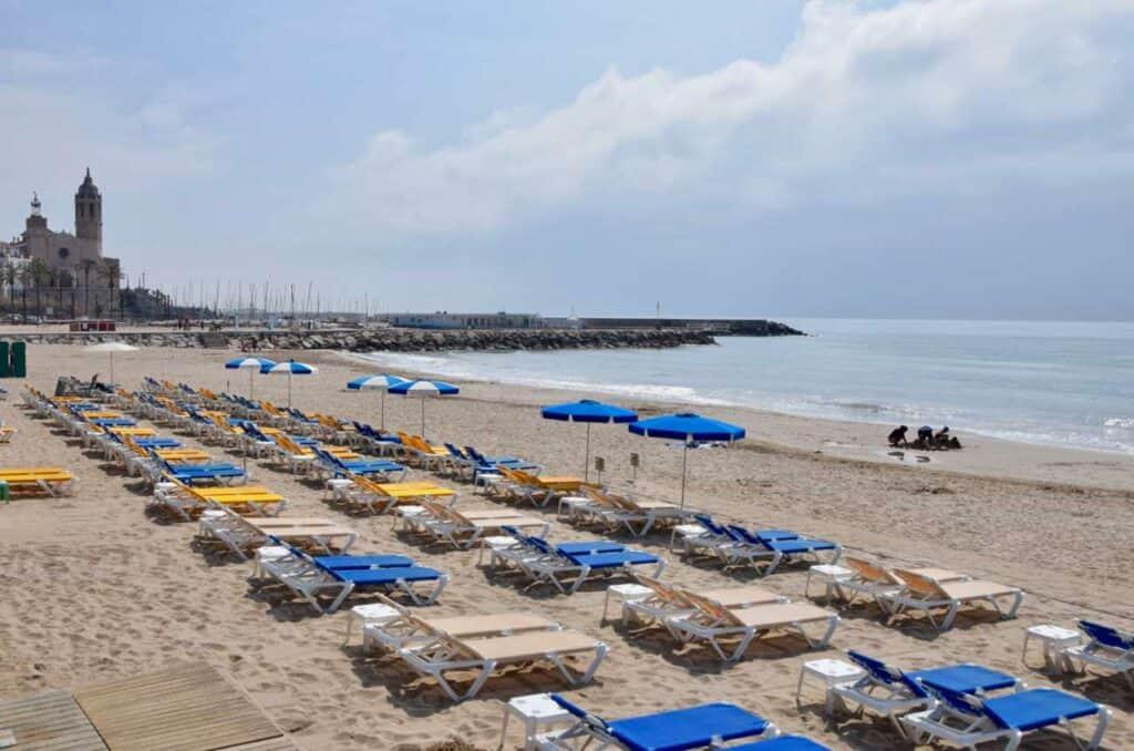 Playa de la Ribera, Sitges, Spain Beaches, best Spain Beaches, beach travel destinations, beach travel, beach vacations
